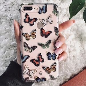 Velvet Caviar - Vintage Butterfly IPhone Case